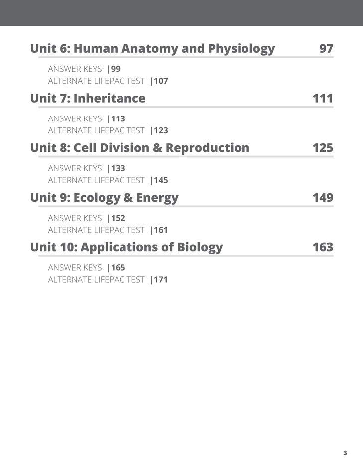 Biology unit 10 test array lifepac science grade 10 biology complete set 9780867172454 rh christianbook com fandeluxe Choice Image