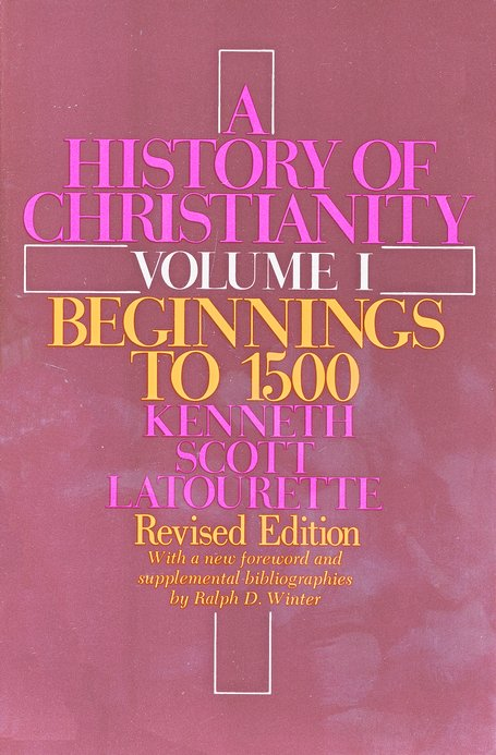 Beginnings to 1500, History of Christianity, Volume 1
