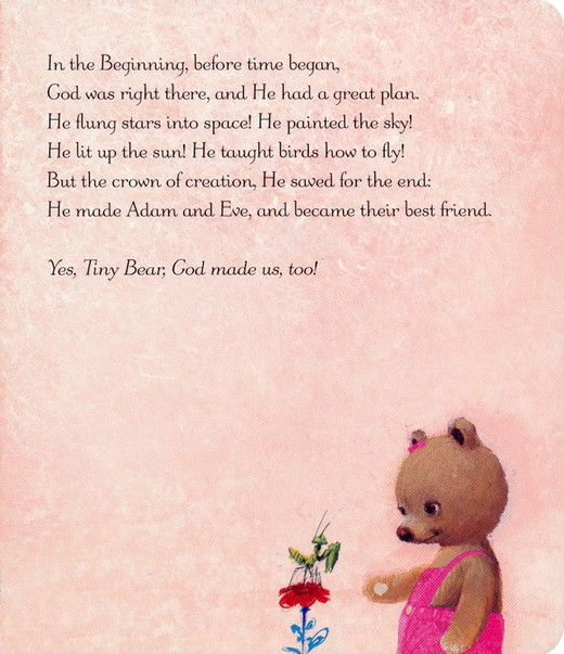 Tiny Bear's Bible, Pink