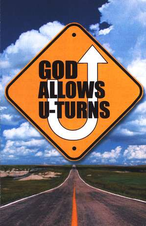 Image result for turn to God roadsign