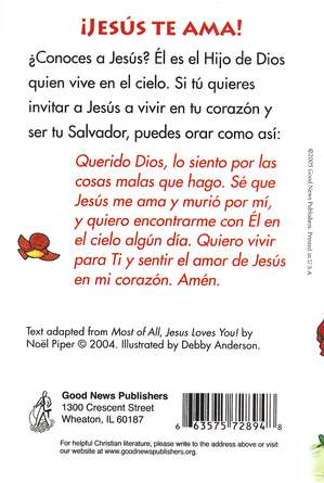 M&#225s que Todo, &#161Jes&#250s Te Ama! Tratado, Paq. de 25  (Most of All, Jesus Loves You! Tract, Pack of 25)