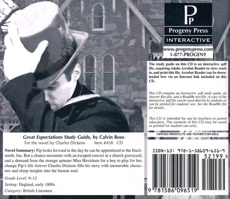 Great Expectations Study Guide PDF CD-ROM