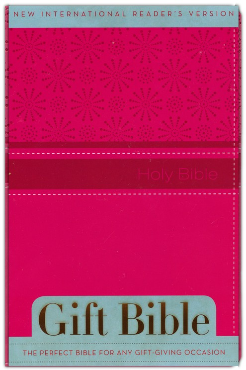 NIrV Gift Bible, Italian Duo-Tone, Hot Pink