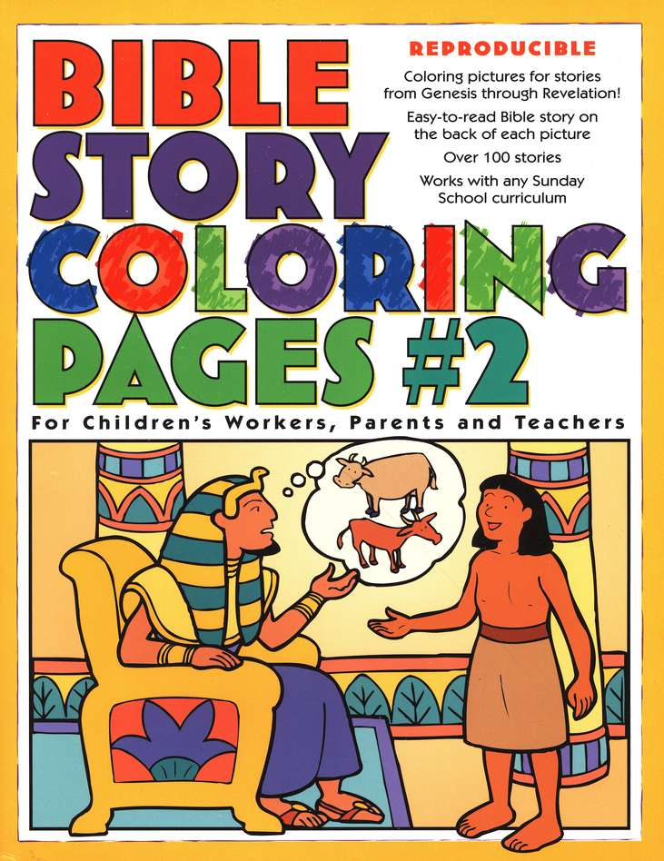 Bible Story Coloring Pages 2 9780830730957