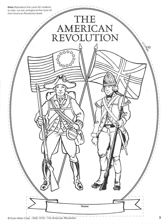 Story of the American Revolution Coloring Book (Dover History ... | 933x676