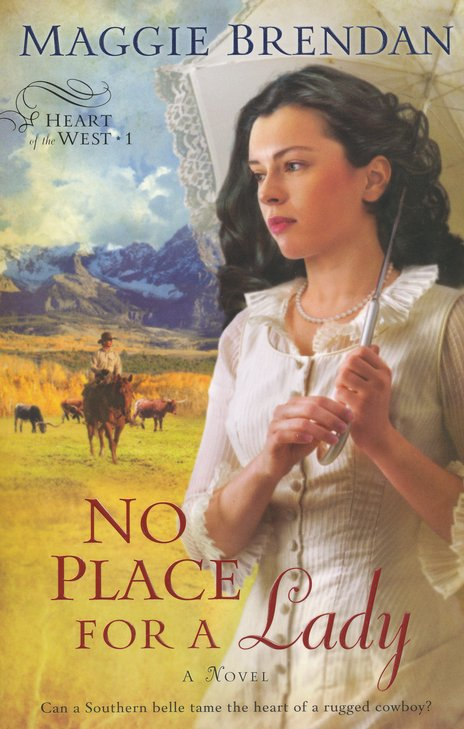 No Place for a Lady, Heart of the West Series #1