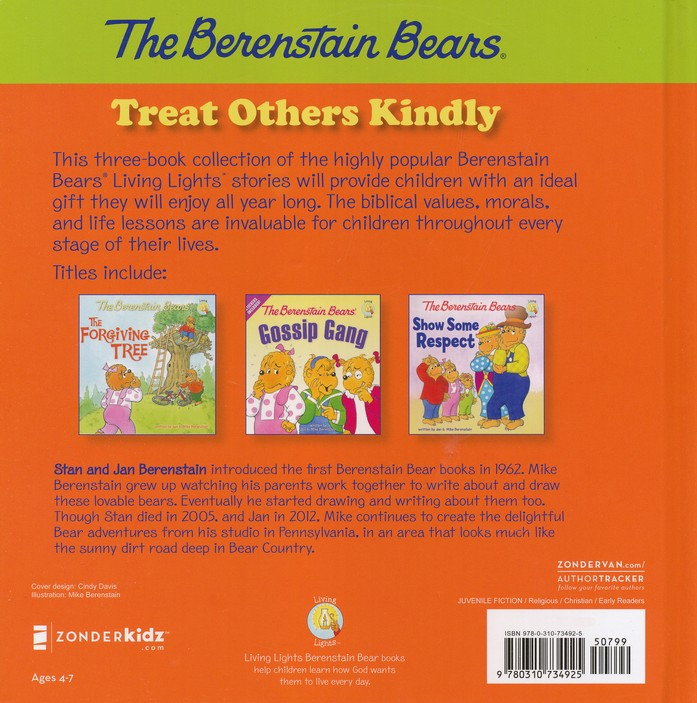 Living Lights: The Berenstain Bears Treat Others Kindly