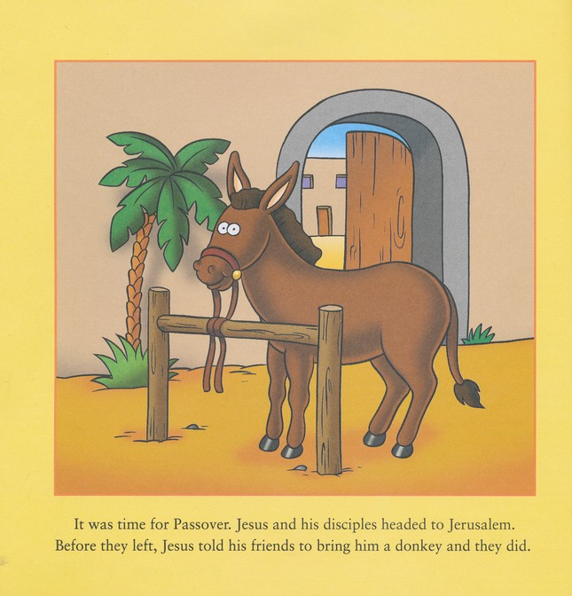 Jesus Enters Jerusalem and He Is Risen: The Beginner's Bible Easter Flip Book