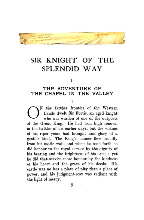 Sir Knight of the Splendid Way