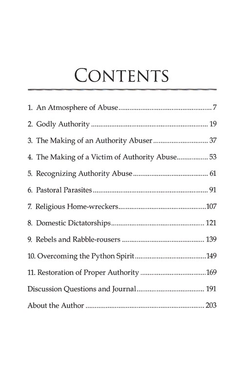 Authority Abusers (New & Expanded)
