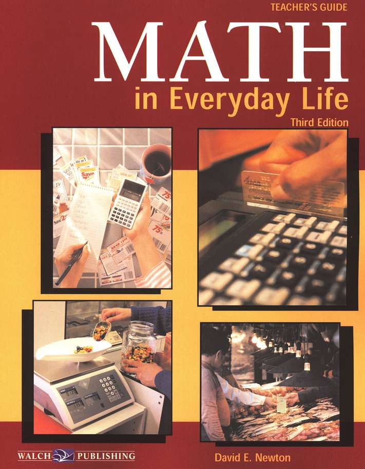 Math in Everyday Life Teacher's Guide