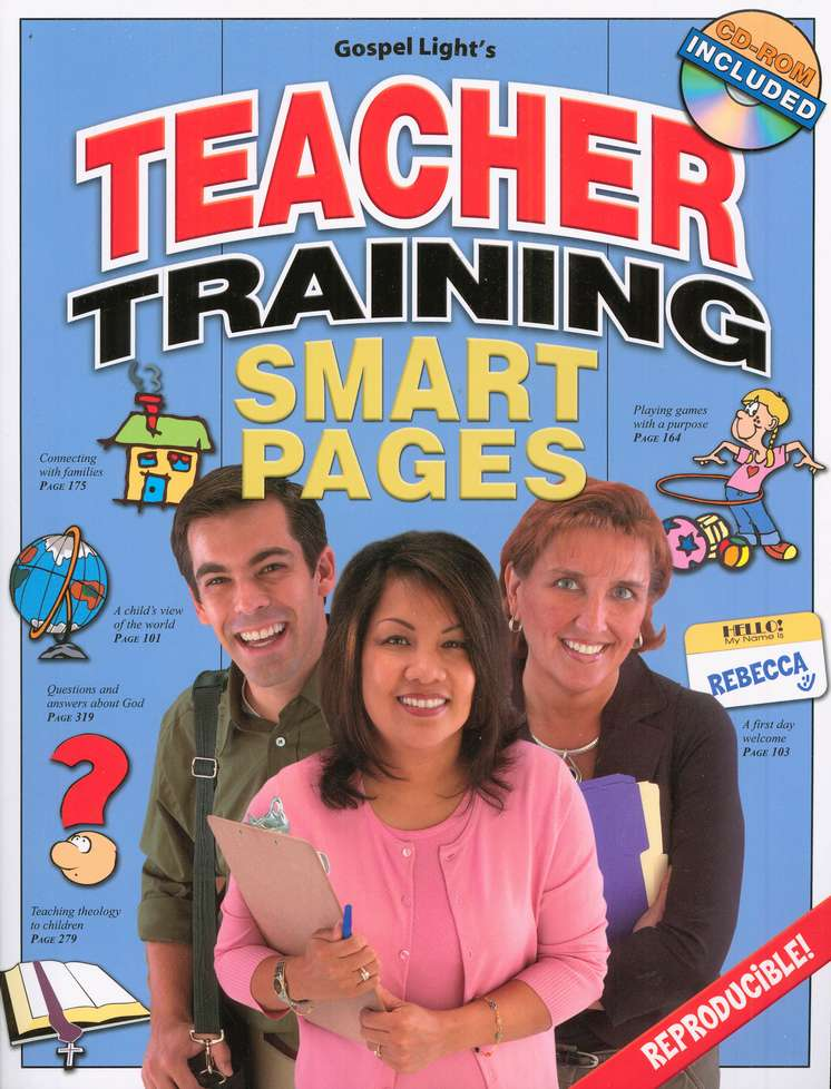 Teacher Training Smart Pages--Book and CD-ROM