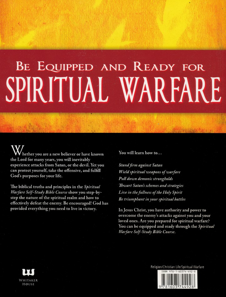 Spiritual Warfare Self-Study Bible Study Course