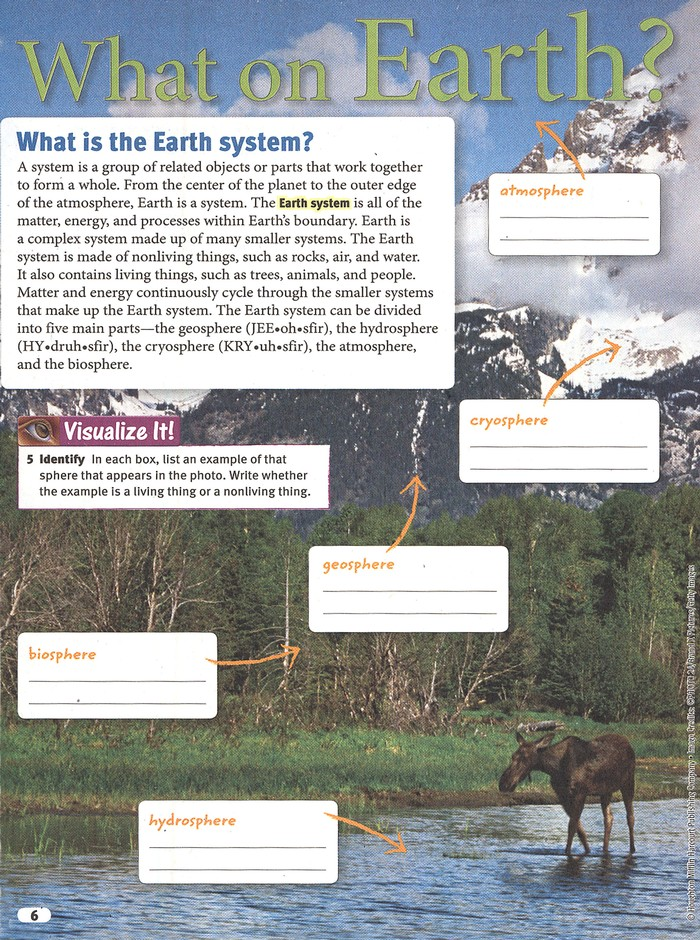 Science Fusion Module E: The Dynamic Earth, Grades 6-8