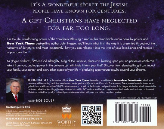 The Power of the Prophetic Blessing: An Astonishing Revelation for a New Generation Unabridged Audiobook on CD