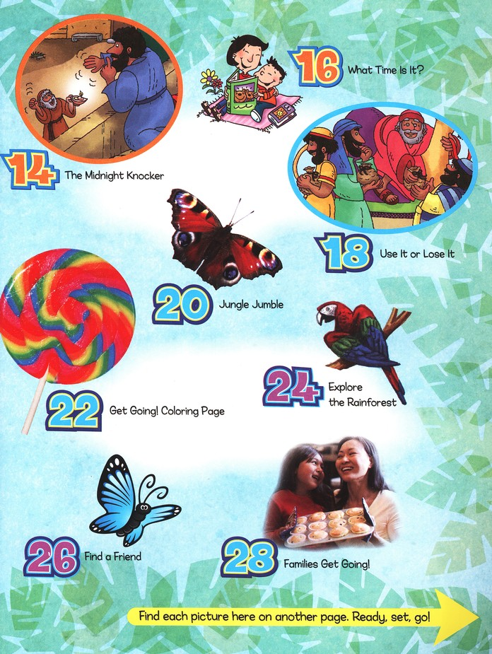 Treehouse Junior Student Magazine, Preschool , Ages 3 to 4