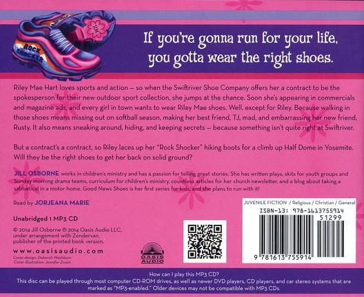 Riley Mae and the Rock Shocker Trek - unabridged audiobook on CD