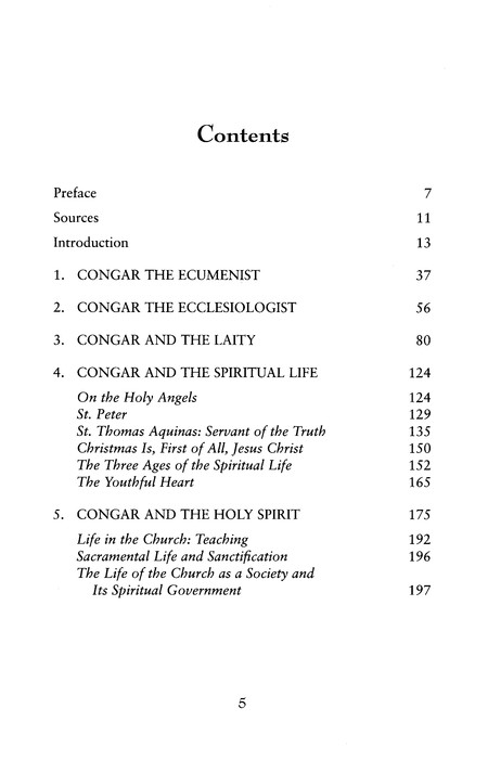 Yves Congar: Essential Writings
