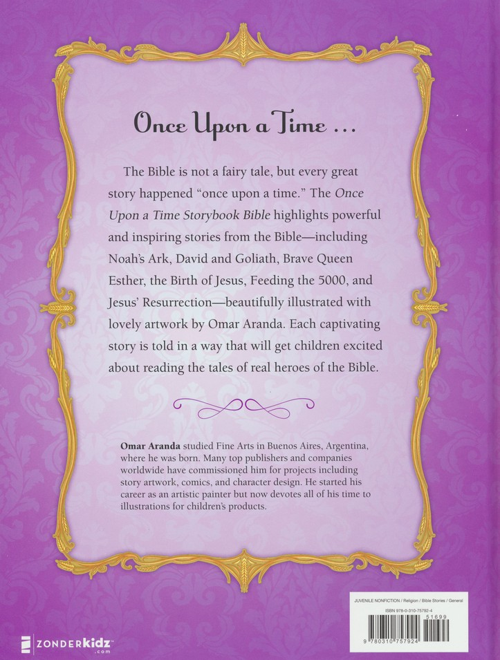 Once Upon a Time Storybook Bible: Illustrated By: Omar Aranda ...