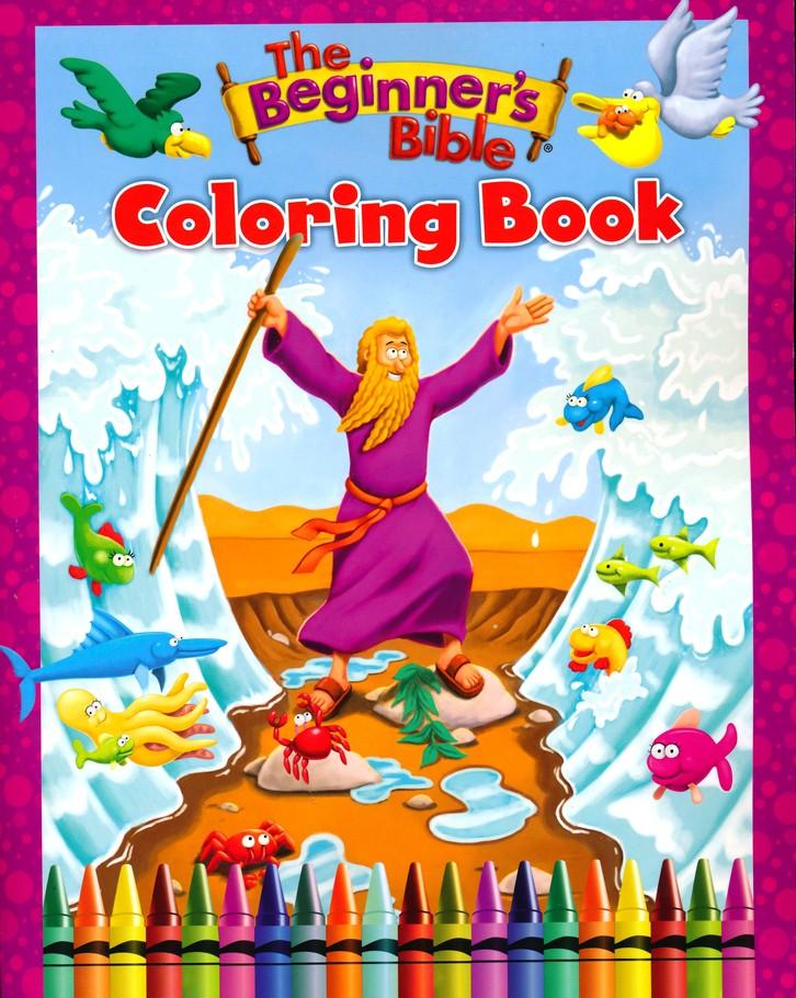 The Beginner's Bible Coloring Book: Zondervan: 9780310759553 -  Christianbook.com