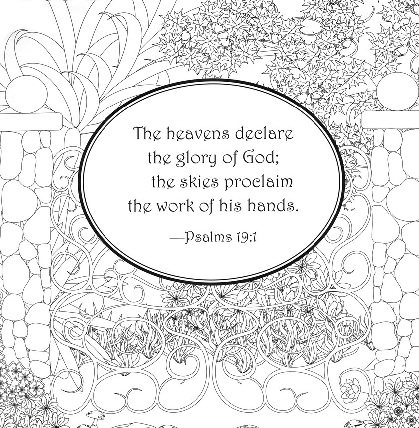 Adam and Eve in the Garden of Eden coloring page | Free Printable ... | 860x842