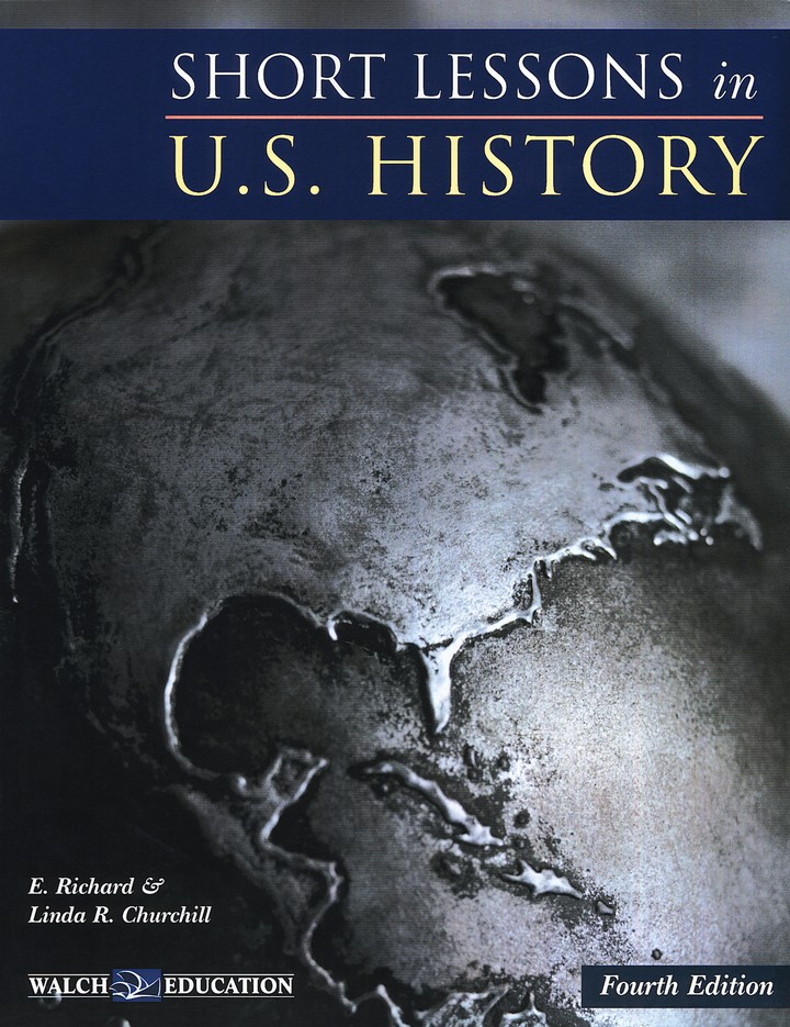 Short Lessons in U.S. History, Fourth Edition