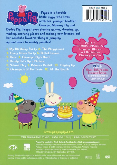 Peppa Pig My Birthday Party Christianbook Com
