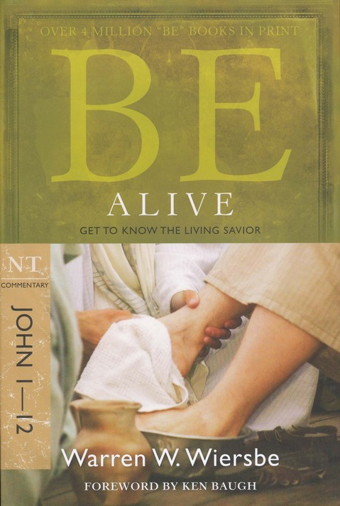 Be Alive (John 1-12), Repackaged