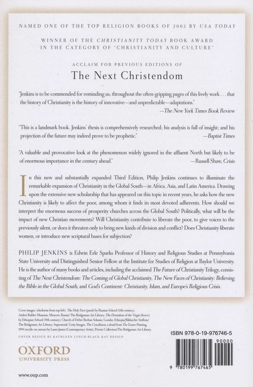 Next Christendom: The Coming of Global Christianity