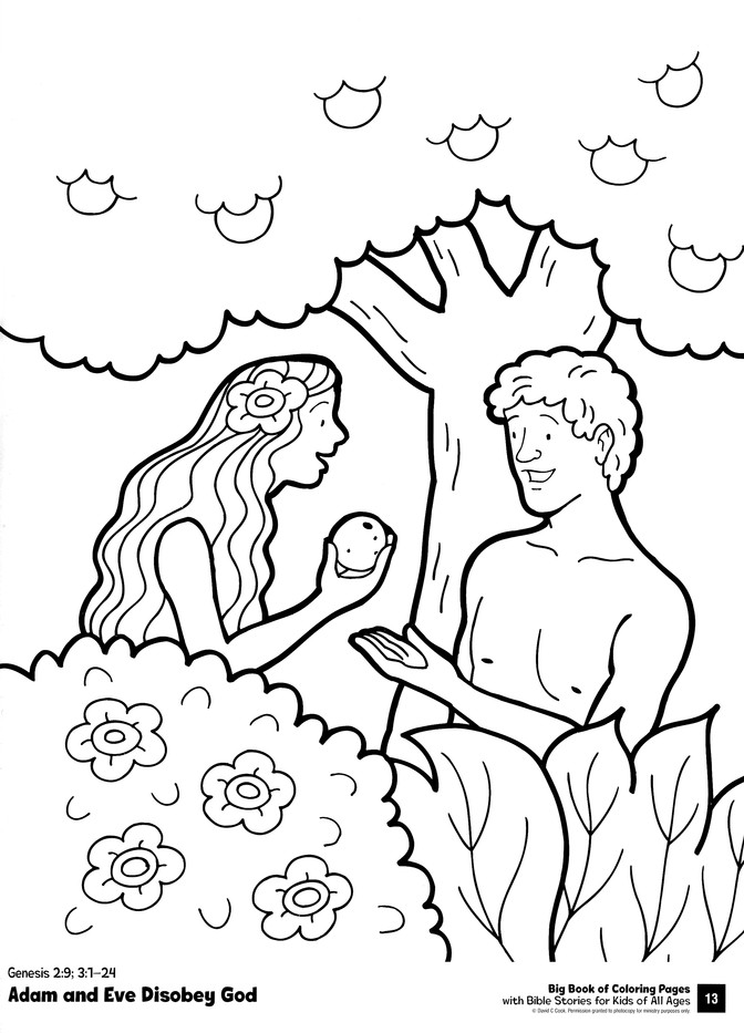 Big Book Of Coloring Pages With Bible Stories For Kids Of All Ages:  9780830772360 - Christianbook.com