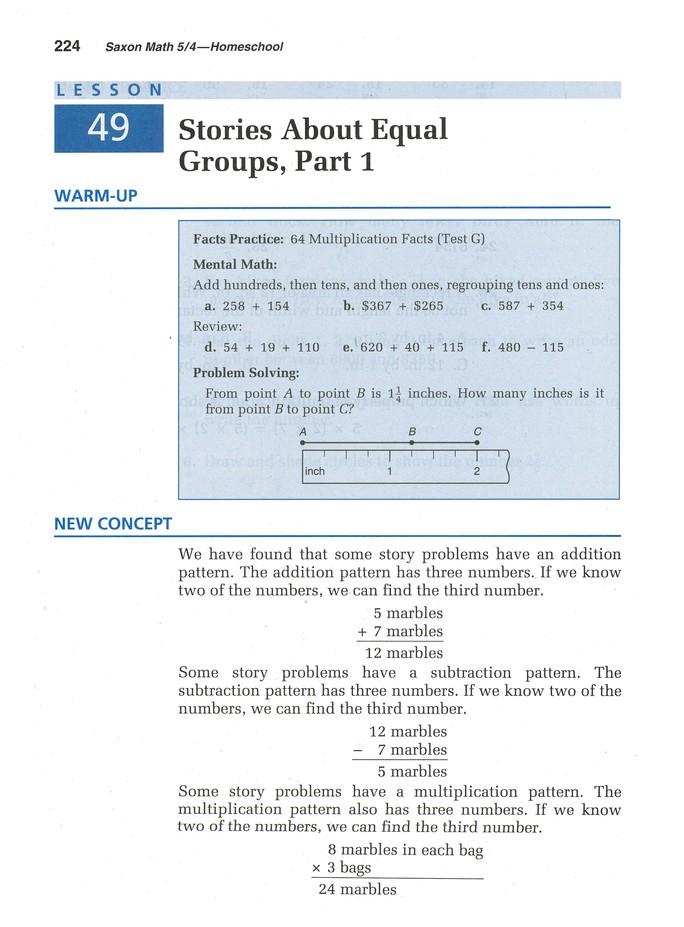Saxon Math 5/4 Homeschool Kit & Saxon Teacher CD-ROMs, Third Edition