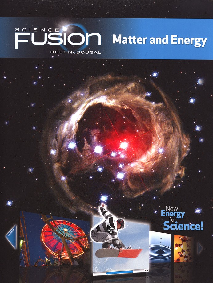 Science Fusion Module H: Matter and Energy, Grades 6-8