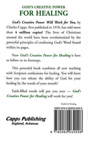 God's Creative Power for Healing, 10 copies