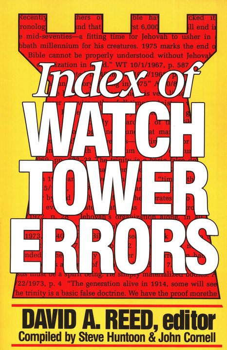 Index of Watchtower Errors