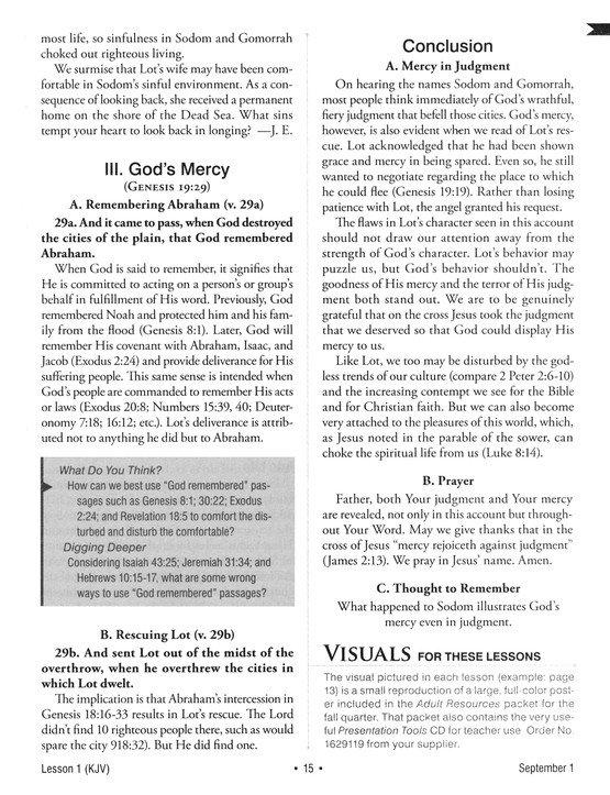 2019-2020 KJV Standard Lesson Commentary, softcover