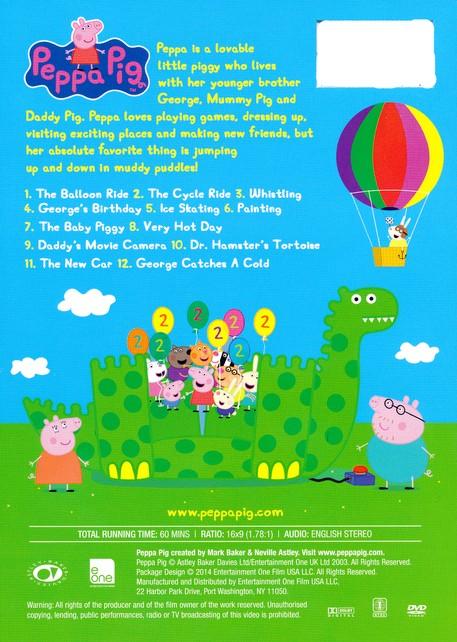 Peppa Pig The Balloon Ride Dvd Christianbook Com
