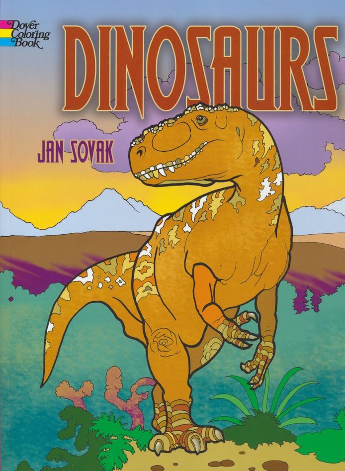 Dinosaurs Coloring Book: Jan Sovak: 9780486779607 - Christianbook.com