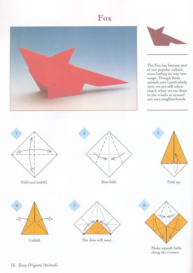 Origami Animals instructions | 934x662