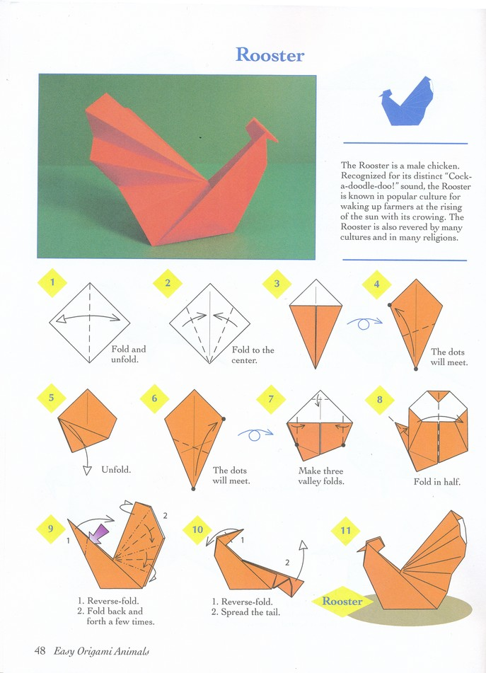 Easy Origami Animals: John Montroll: 9780486781624 - Christianbook.com