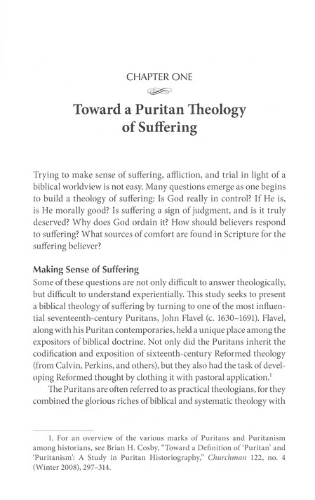 Suffering and Sovereignty: John Flavel and the Puritans on Afflictive Providence