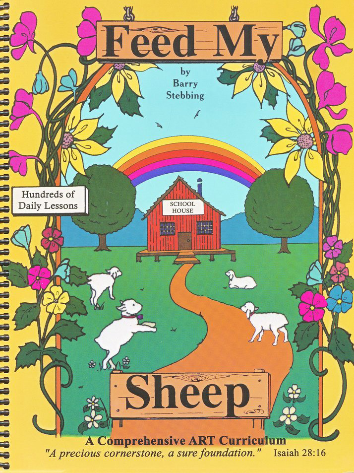 Beginning Drawing & Painting Kit, Ages 10 & Up: Feed My Sheep