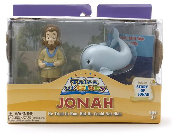 Jonah and the Big Fish Tales of Glory Play Set