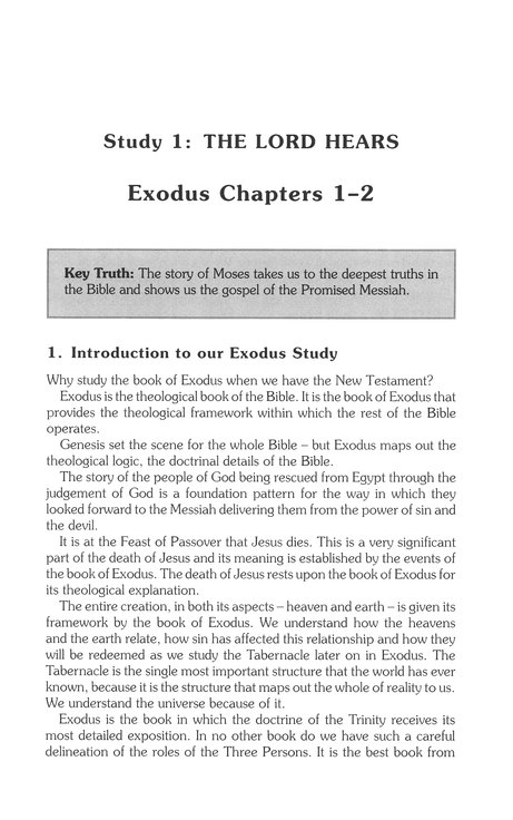 Book by Book: Exodus (Study Guide)