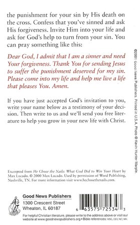 He Did This Just For You, Pack of 25 Tracts
