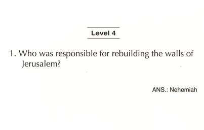 Bible Quiz Cards: Level Four