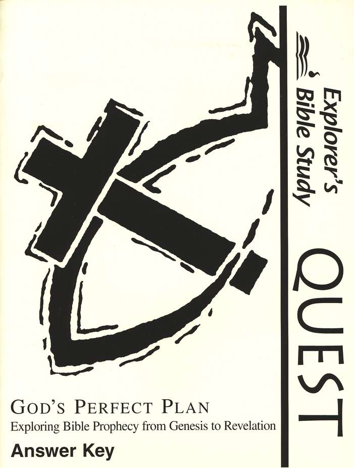 Bible Quest: God's Perfect Plan, Answer Key