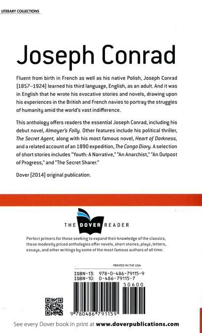 Joseph Conrad Dover Reader Joseph Conrad 9780486791159