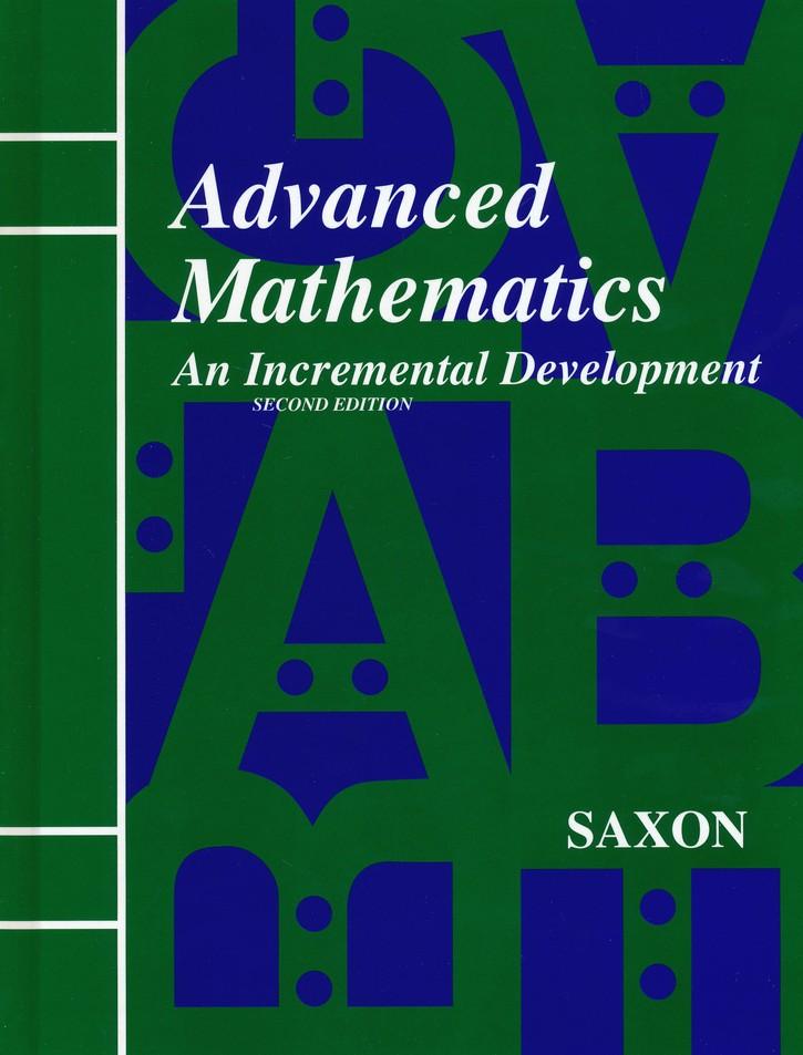 Saxon Advanced Math Home Study Kit