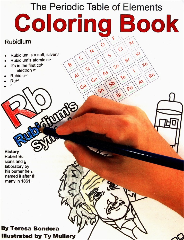 The Periodic Table Of Elements Coloring Book Teresa Bondora 9780977920990