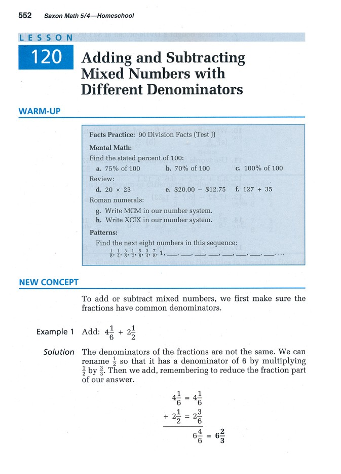 Saxon Math 54 Student Text 3rd Edition 9781591413172